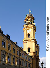 Munich Churches - St Kajetan Theatinerkirche - St Kajetan...