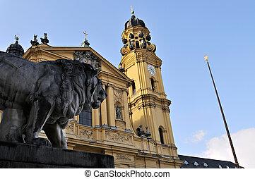 Munich Churches - St. Kajetan (Theatinerkirche) - St....