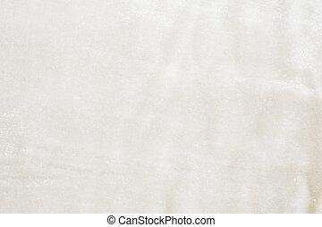 White Velvet Fabric