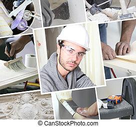 Construction painter