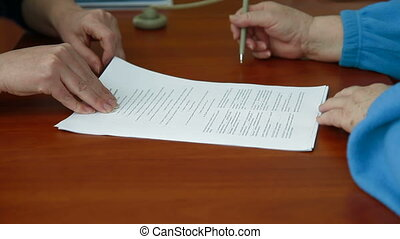 Signing Banking Credit Agreement