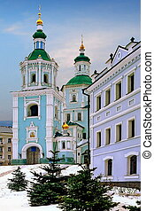St. Voskresensky Cathedral Church in Ukrainian city of Sumy