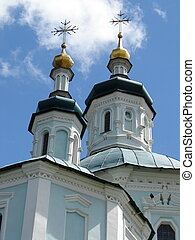 St Voskresensky Cathedral Church in Ukrainian city of Sumy