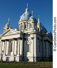 Spaso-Preobrazhensky Cathedral Church in Ukrainian city of...