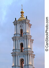 Ancient Christian Cathedral Belfry