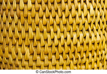 Texture of fabricated bamboo bark