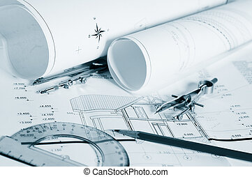 Blueprints - professional architectural drawings