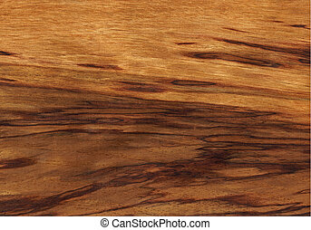 Tiger etimoe wood texture - Texture of tiger etimoe...