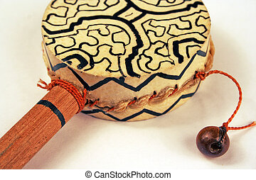 percussion instrument - Traditional percussion instrument on...