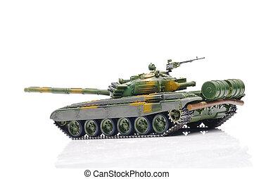 Russian tank - Scale model of russian tank
