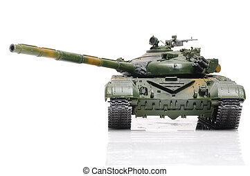 Russian tank - Scale model of russian tank