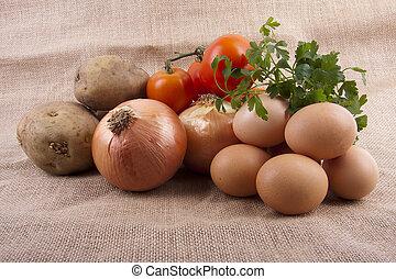 ingredientes de la cocina tradicionalq