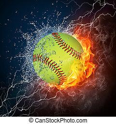 棒球, 球