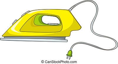 Cartoons Home Appliences Flat Iron