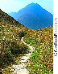 山, 路徑