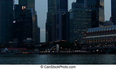 Singapore - time-lapse with zooming out