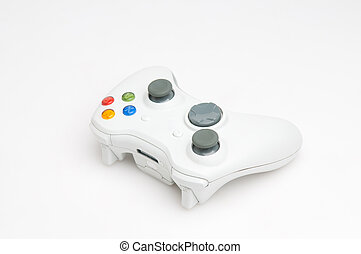 Game pad - White game pad