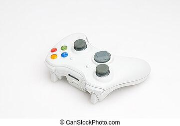 Game pad - White game pad