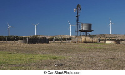 Wind generators and wind water pump