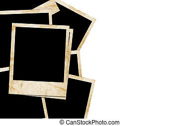 slides isolated on a white back ground