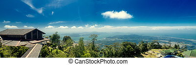 Viewpoint at the Langkawi island Malaysia - Panoramic view...