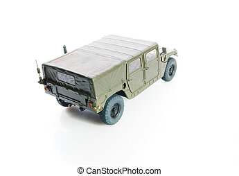 Humvee - Isolated army hmvee