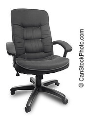 Office chair - isolated office armchair