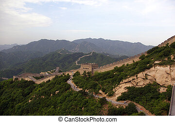 The Great Wall in China - It is one the most famous scenic...
