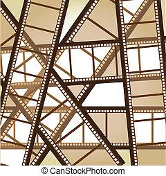 old film stripe