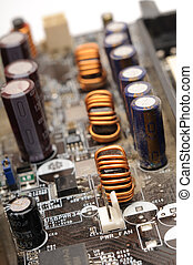 Electric components - Image with some electric components