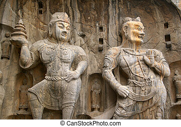 Longmen Grottoes - It is located in Luoyang, China