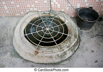 A water well