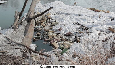 river - pollution in river