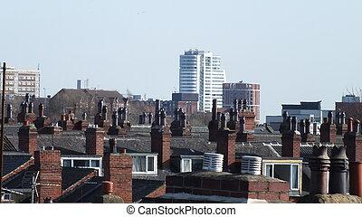 Cityscape, inner city, Leeds