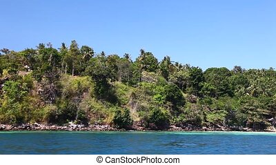 View of the island by boat 20