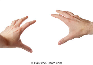 Hands - Pair of isolated hands