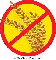 trigo, não