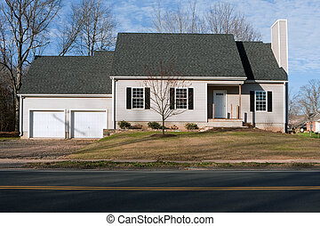 Newly Constructed House with Two Car Garage
