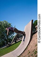 Skate Park Concrete Skate Ramp