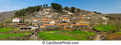 Old moutain village in Portugal