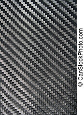 Black Carbon fiber texture closeup as background