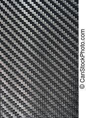 Black Carbon fiber texture