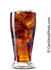 Cola Isolated over white