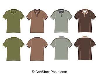 polo shirt design Vector template