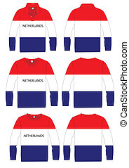 Long-sleeved sport shirt netherland - Long-sleeved sport...