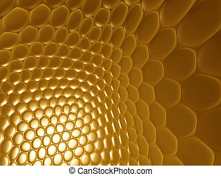 scales background - glowing golden fish, snake, python...