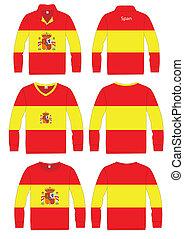 Shirt Long-sleeved Flag span - Shirt Long-sleeved sport in...