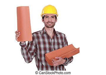 A roofer.