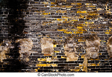 Old brick walls make for a long time