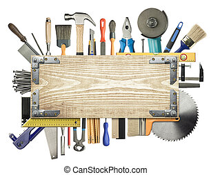 Carpentry background - Carpentry, construction background...